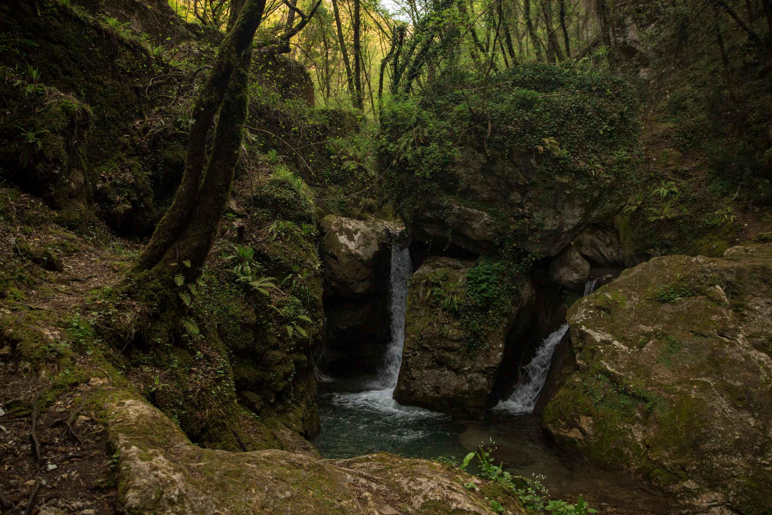 Candalla, Campallorzo e Grotta all'Onda