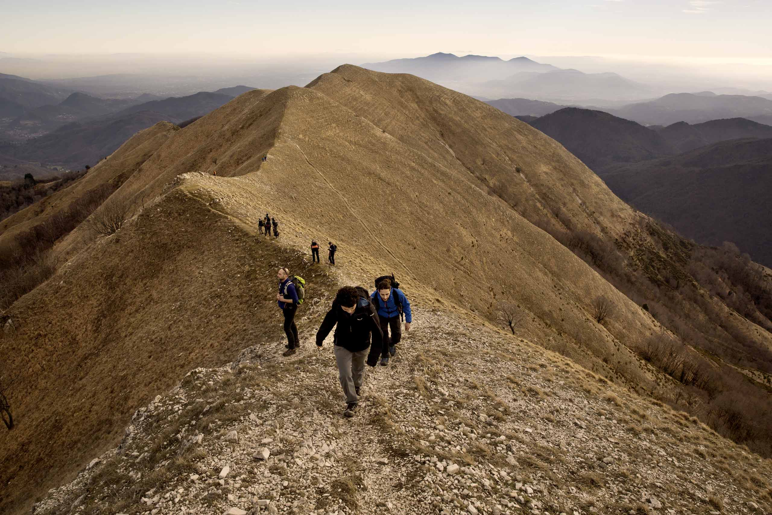 Salita al Monte Piglione dall'alpeggio di Groppa