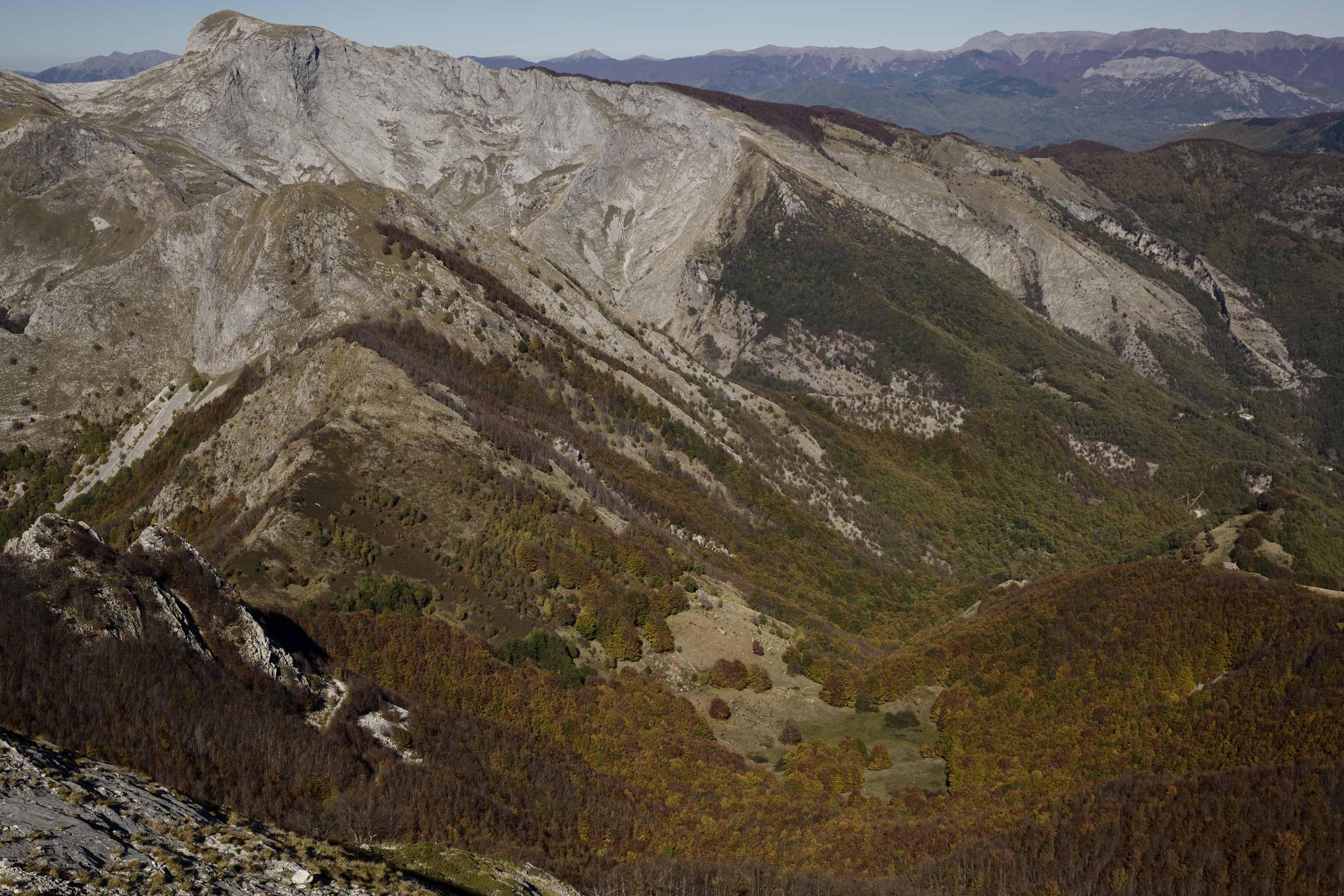 Il Monte Corchia e il Canale del Pirosetto