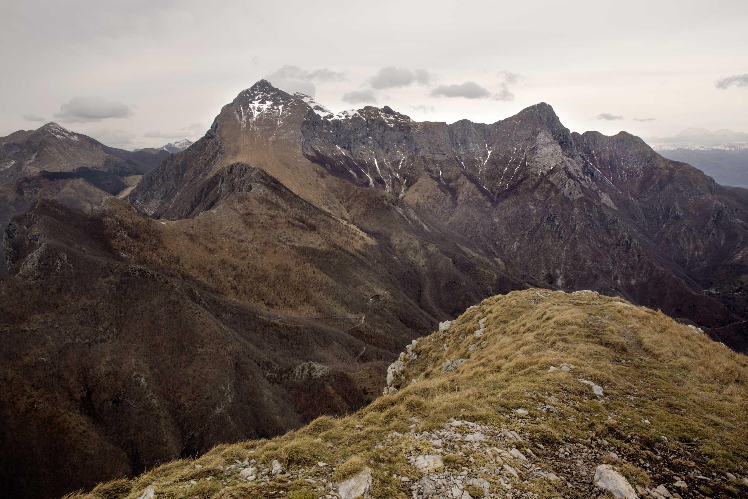 Il Monte Croce e la Forra delle Scalette
