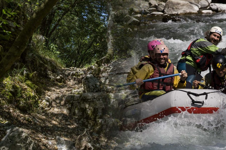 Trekking e Rafting in Garfagnana
