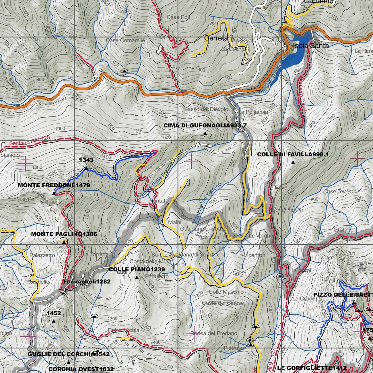 Cartine escursionistiche: quale supporto scegliere?